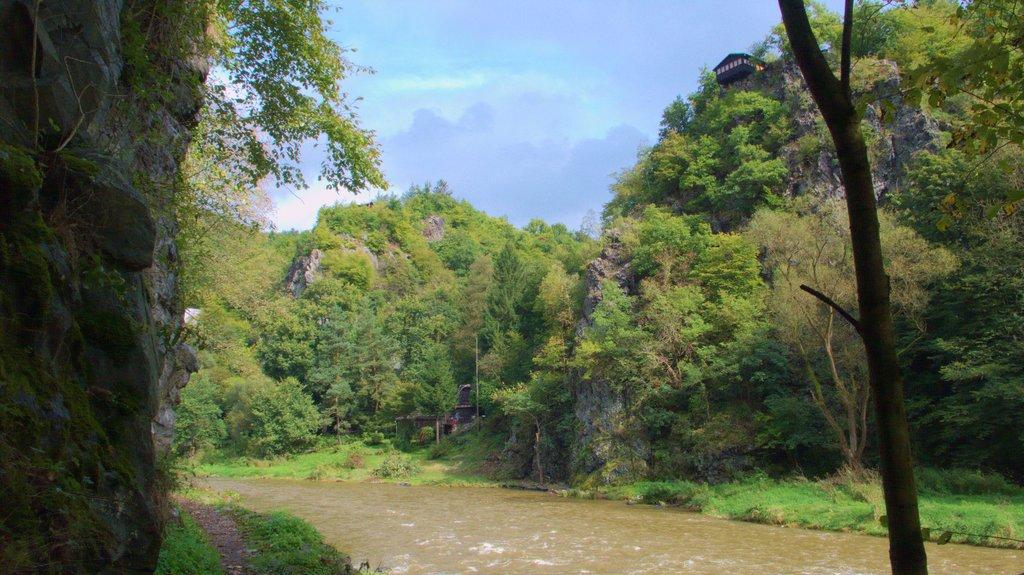 Naturen i Posazavi - 30 km fra Prag