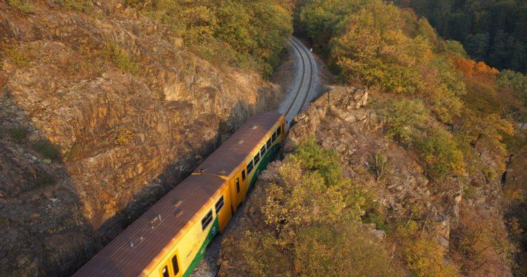 Posazavsky pacific train