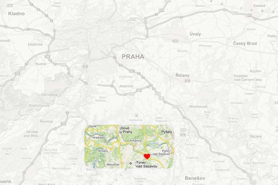 discover Posazavi through outdoor trips -next to Prague