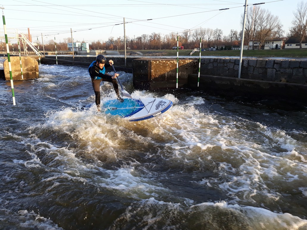 Extreme SUP in Prague